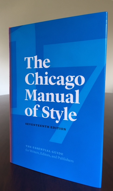 Chicago manual of style software