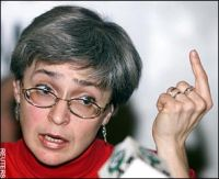 Anna Politkovskaya from Reuters