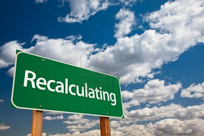 "Recalculating (""Poetry is beautiful and important"")"