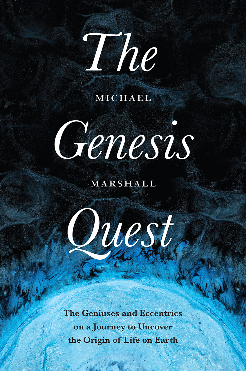 """#AuthorAtHome: Michael Marshall on """"The Genesis Quest"""""""