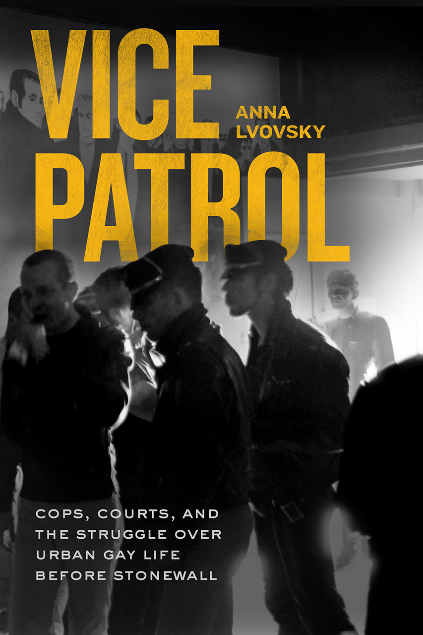 """Four Questions with Anna Lvovsky, Author of """"Vice Patrol"""""""