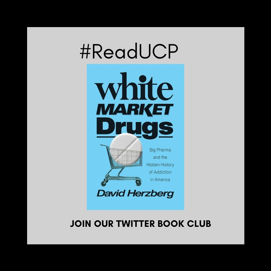"""Read an Excerpt from """"White Market Drugs"""" Our Winter #ReadUCP Book Club Pick"""