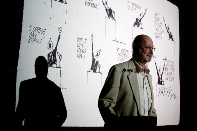 Five questions for Jules Feiffer