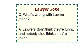 Failing Law Schools: What's so funny?