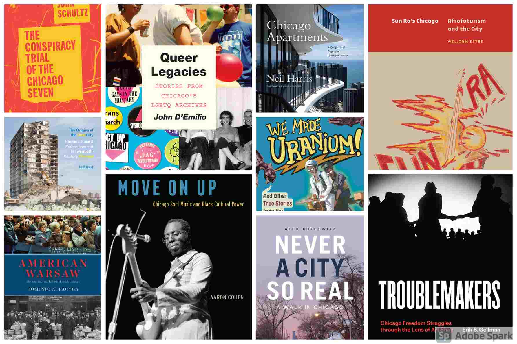 A History of Chicago in 10 Books
